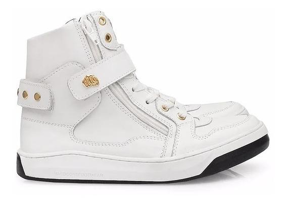 Tênis Hardcorefootwear Slim 3724f Confort Branco Último N 34