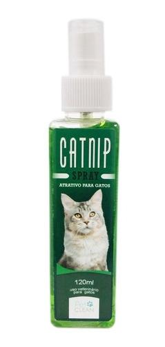 Spray Catnip Para Gatos Petclean  120ml