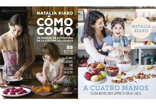 Pack Cómo Como + A Cuatro Manos - Natalia Kiako
