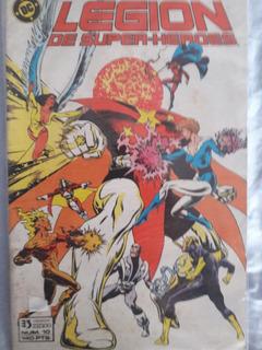 Comics De Superman, Legion, Wonder Woman Zinco