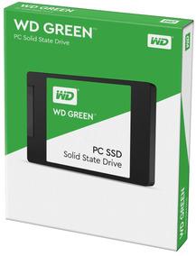 Hd Ssd 120gb Western Digital Green Sata 2.5 Wd 1ano Garantia