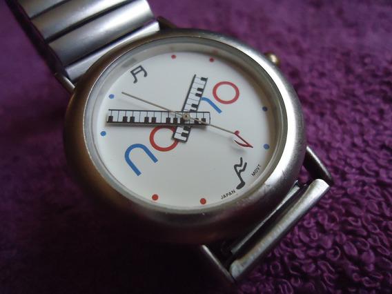Nono Reloj Vintage Retro Para Dama Manecillas De Teclado