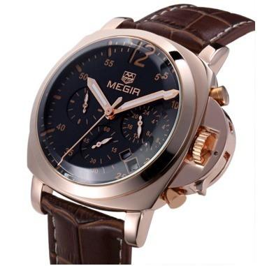 Relógio Masculino De Pulso Megir - 6ga4euwj6