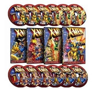 X-men - Série Animada - Dublado - 12 Dvds