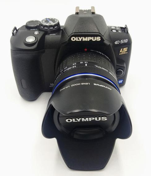 Câmera Olympus E510 Com Lente 14-42mm F3.5-5.6
