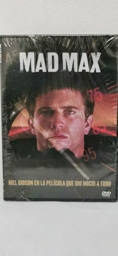 Mad Max Dvd Argentino [nuevo]