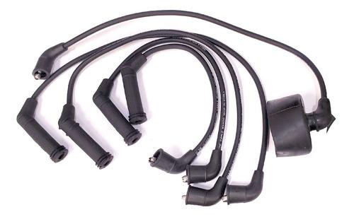 Imagen 1 de 2 de Cable Bujia   Hyundai Accent 95-99 Carburacion Capuchon Gde