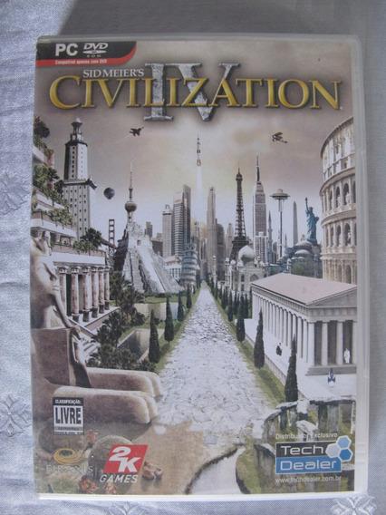 Jogo - Civilization Iv - Mídia Física - Para Pc