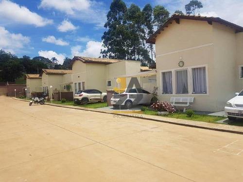 Casa Em Condomínio Com 3 Quartos À Venda, 83 M² Por R$ 350.000 - Jardim Estância Brasil - Atibaia/sp - Ca14482