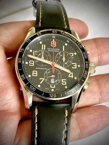 Relógio Victorinox Chrono Classic Xls 45mm