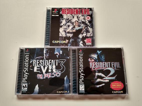 Resident Evil Collection - Psone Patch Dublado Em Português