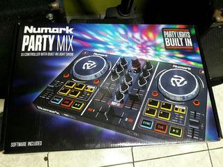 Mixer Controlador Numark Party Mix
