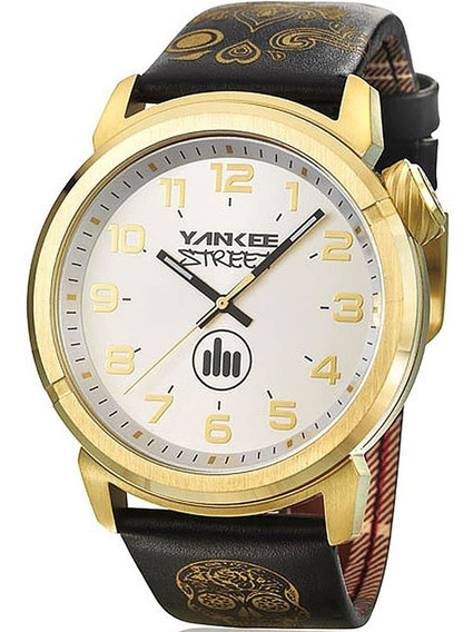 Relógio Masculino Yankee Street Black Angels Ys30443b