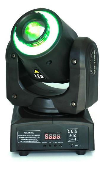 Kit 4 Mini Beam Moving Head Led 30w Rgbw Dmx512 Strobo Pro