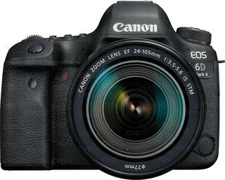Camara Canon Eos 6d Mark Ii - Full Frame