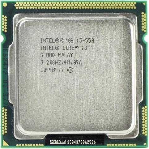 Processador Intel Core I3-550 3.2ghz 4mb Lga 1156 Semi Novo