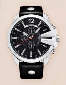 Relógio Masculino Curren 8176original Frete Grátis Sem Juros