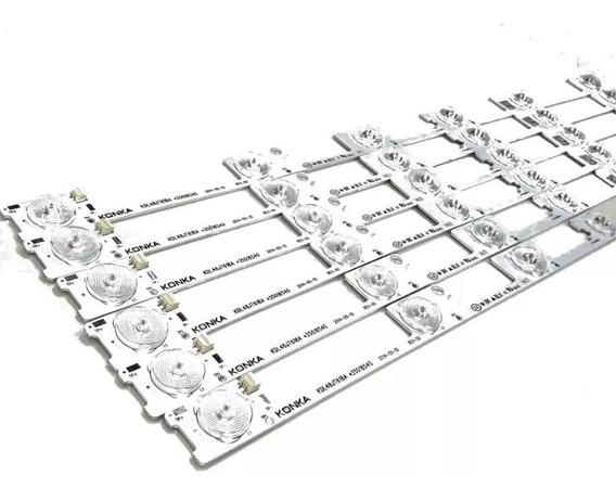 Kit 6 Barras De Led Toshiba 48l2400 48l5400 Dl4845 Dl4844