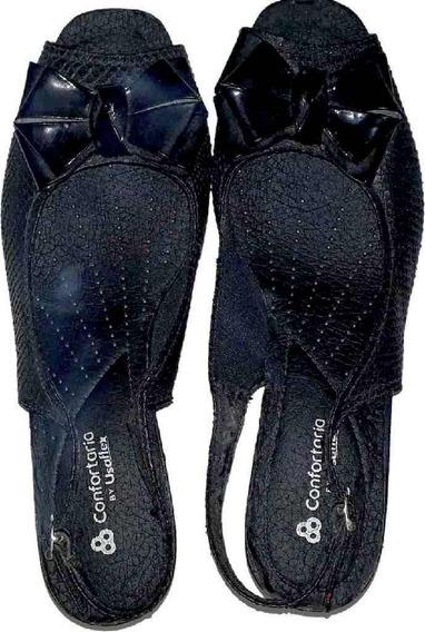 Sandália Slingback Usaflex