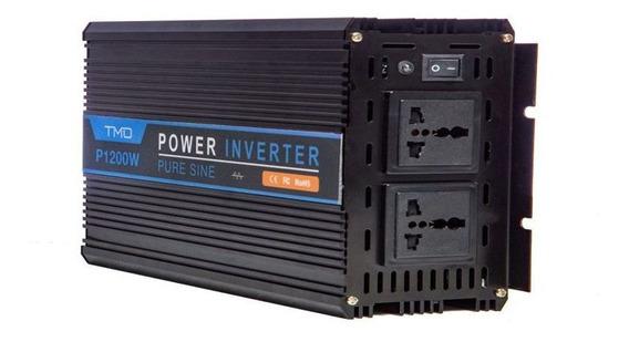 Inversor De 1200w Pico Em 2400w 12v Onda Senoidal Pura