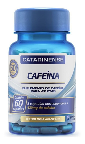 Cafeina - 60 Cápsulas - Catarinense