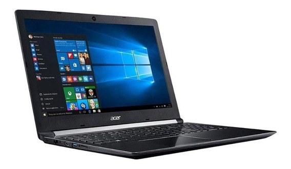Notebook Acer Core I5 4gb 1tb 15.6 Pol W10