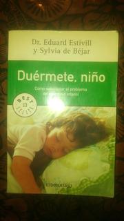 Duermete Niño Libro Insomnio Infantil