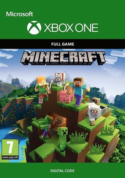Minecraft Xbox One - Código 25 Dígitos
