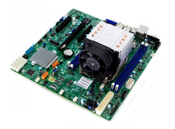 Kit Para Workstation Placa Mãe 2066 + Proc Xeon W2123 3.6ghz