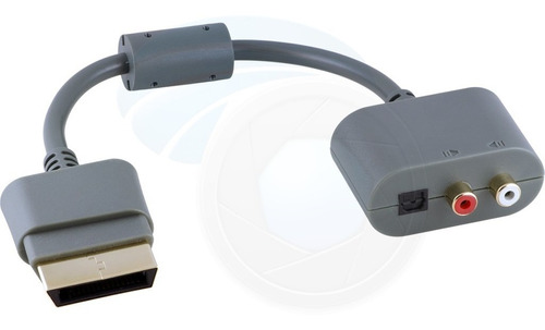 Xbox 360 Stereo Rca And Toslink Digital Optical Cable