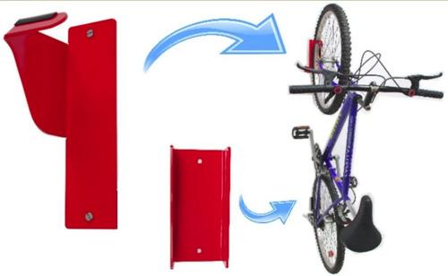Soporte Colgar Bicicletas No Mancha La Pared Diseño Conbikes