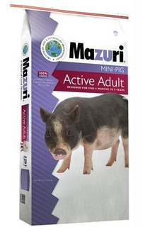 Mazuri Mini Pig Active Adult Alimento Mini Pig Adulto 11.3kg