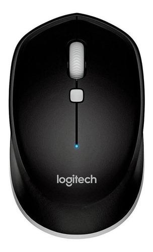 Imagen 1 de 2 de Mouse Logitech  M535 gris y negro
