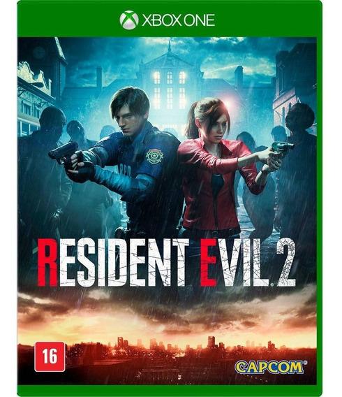 Resident Evil 2 Remake Mídia Física Lacrado Em Português
