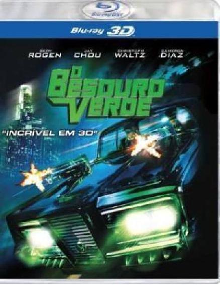 Blu-ray O Besouro Verde Em 3d