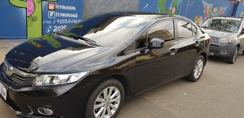 Imagem 1 de 8 de Honda Civic 2012 1.8 Lxs Flex Aut. 4p