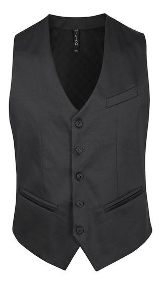 Chalecos De Vestir Satinados Entallados - Quality Import Usa