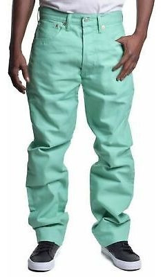 Pantalon Levis 501 Tallas Extras Coral 42x30 Menta 40x30