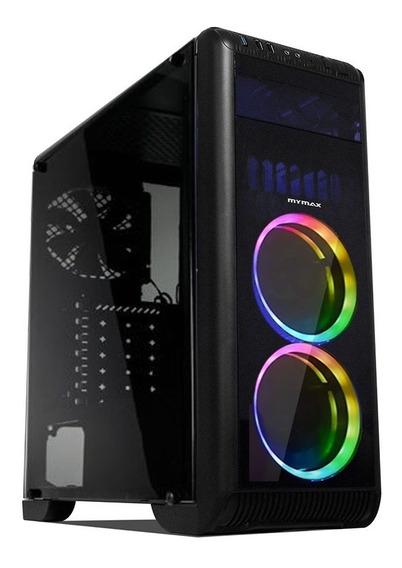 Pc Gamer Core I5 , 8gb , Ssd 480gb + Gabinete Com Led Novo!