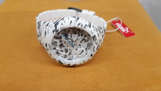 Relógio Analógico Puma 96204m0panp6 - Branco
