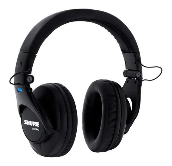 Fone de ouvido Shure SRH440 preto