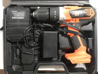Atornillador A Bateria Nebraska 18v Impecable En Maletin