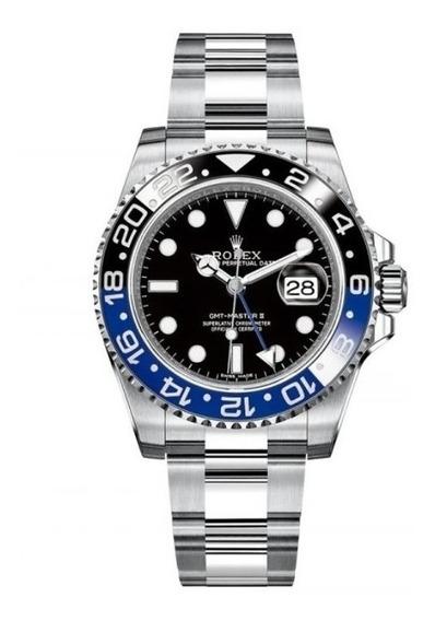 Reloj Rolex Gmt Master 2 Ii 44mm Automatico Batman R48