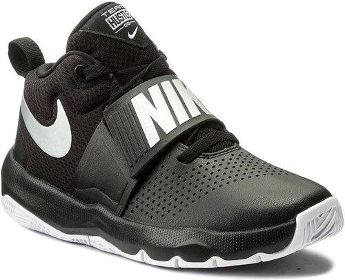 Tenis Nike Team Hustle D 8 Gs Negro/blanco 881941-001 Nk0606