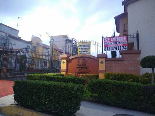 Imagen 1 de 10 de Casa En Tecamac, Villas Del Real! Oportunidad!!!