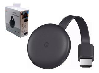 Google Chromecast 3 Gen Convertidor Smart Tv Hdmi Netflix Spotify Flow Hbo Streaming