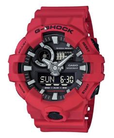 Relógio G Shock Vermelho Ga-700 - Última Peça