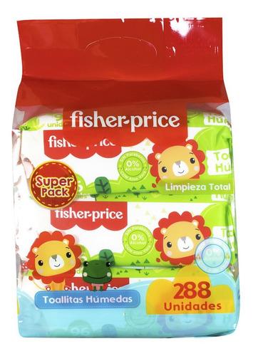 Fisher Price Toallas Húmedas 6x96und - Limpieza Total