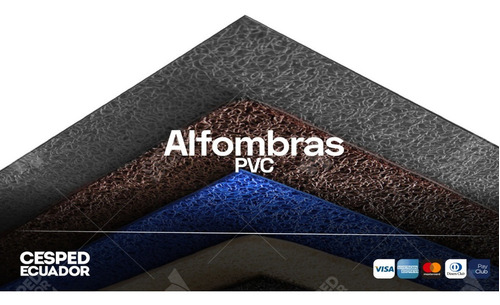 Alfombra Tipo Musgo Pvc Calidad Premium Envío A Todo Ecuador