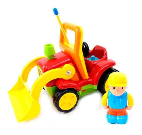 Tractor Cartoon Control Remoto Rojo Mc06r